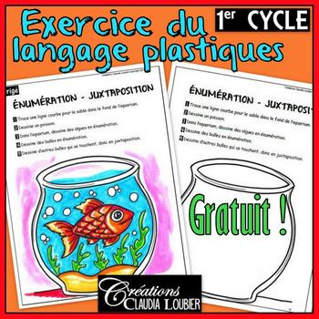 Gratuit: exercice langage plastique: 1er cycle