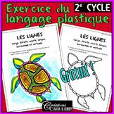 Gratuit: exercice langage plastique: 2e cycle