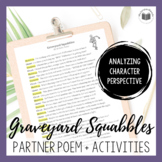 """Graveyard Squabbles"" {A Halloween Partner Poem}"