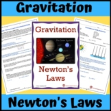Gravitation: Newton's Law of Universal Gravitation