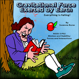 Gravitational Force Exerted by Earth:  Doodle Dat Notes and PowerPoint