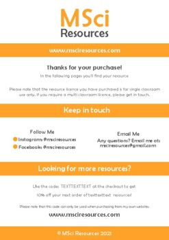 Gravitational Potential Energy Doodle Notes, Middle School Physics, Science