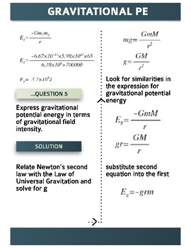 Gravitational Potential Energy Questions (Solved)