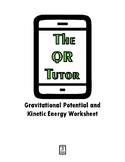 Gravitational Potential and Kinetic Energy QR Code Video W