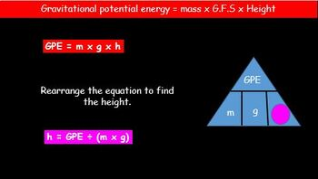Gravitational Potential and Kinetic Energy - Transformations and Calculations