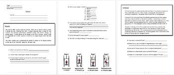 Physics - Gravity w/worksheet (POWERPOINT)