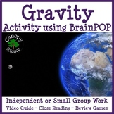 Gravity Activity using BrainPOP