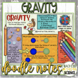 Gravity Squiggle Sheets & Understanding Checkpoint (Quiz) (NGSS Aligned)