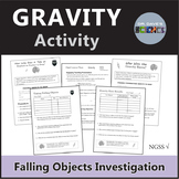Gravity Experiment Free Falling Objects NGSS MS-PS2-4