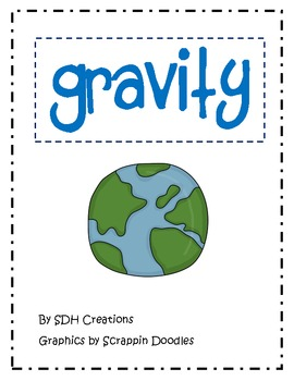 Gravity: Experiment, Word Cards, Student Book