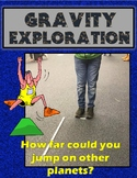 Gravity Exploration- Find your weight and JUMP distances on other planets!