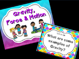 Gravity, Force & Motion for Kindergarten