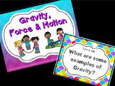 Gravity, Force & Motion for Kindergarten