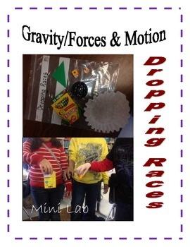 Gravity, Forces and Motion, Dropping Races