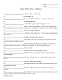 Gravity, Friction, Forces, And Pressure Quiz or Worksheet for Physical Science