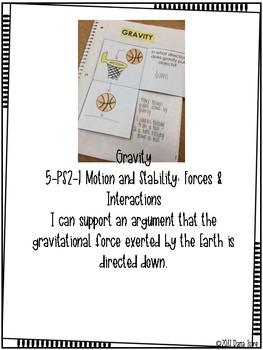 Gravity INB Freebie Activity