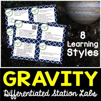 Gravity Student-Led Station Lab