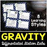 Gravity Student-Led Station Lab - Distance Learning