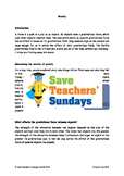 Gravity Lesson plan, Text and Worksheets