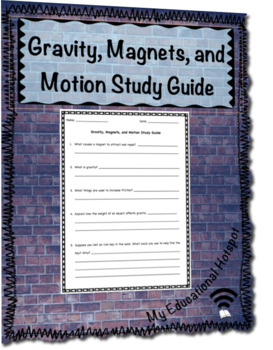 Gravity, Magnets, and Motion Study Guide