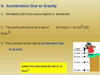 Gravity Notes Day 2 of 3