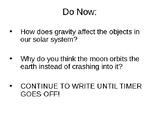 Gravity & Orbit PowerPoint