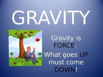 Gravity Powerpoint By Sailing Through The Common Core Tpt