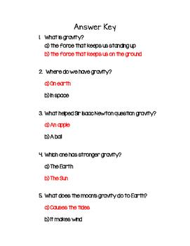 Gravity Quick Assessment