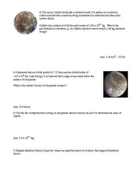 Gravity: Trip to Jupiter (with key)