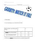 Gravity Watch it Fall 2nd Grade