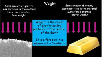 Gravity Weight and Mass