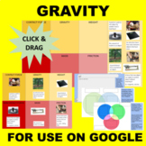 Gravity and Friction (Mass, Weight, etc) GOOGLE Interactive Sort & Match
