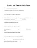 Gravity and Inertia Study Jams