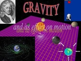 Gravity and Its Effect on Motion (Warning: FLASH file)