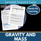 Gravity and Mass Inquiry Labs