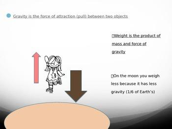 Gravity and Orbit Power Point