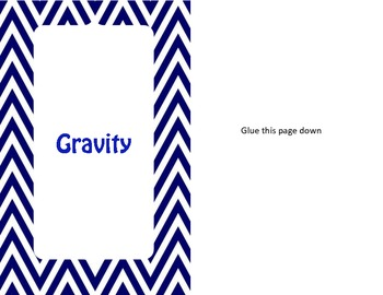 Gravity foldable interactive notes