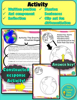 Gravity in Space Lesson (Presentation, notes, and activity)