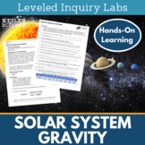 Solar System Gravity Inquiry Labs