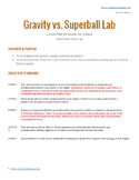 Gravity vs. Superball Lab Investigation