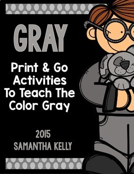 The Color Gray Printables