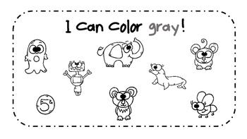 Gray Activity Book!
