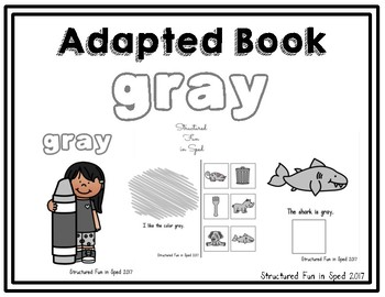 Gray Adapted Book