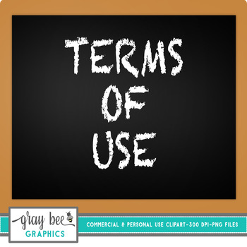 Gray Bee Graphics Terms of Use