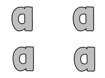 Bulletin Board Letters Gray
