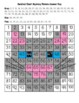 Gray Cat Hundred Chart Mystery Picture with Number Cards for Support