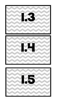 Gray Chevron Accelerated Reader Book Bin Labels