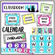 Gray Chevron & Chalk {Classroom Starter Kit} Back to Schoo