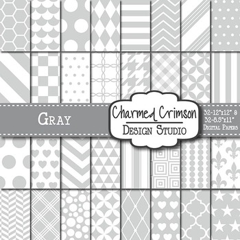 Gray Digital Paper 1021