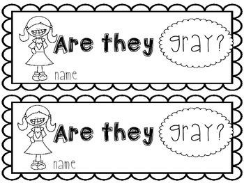 Gray Emergent Reader